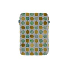 Green And Golden Dots Pattern                      Apple Ipad 2/3/4 Zipper Case by LalyLauraFLM