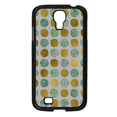 Green And Golden Dots Pattern                      Sony Xperia V Hardshell Case by LalyLauraFLM