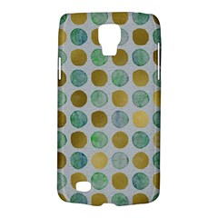 Green And Golden Dots Pattern                      Samsung Galaxy Ace 3 S7272 Hardshell Case by LalyLauraFLM