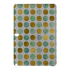 Green And Golden Dots Pattern                      Samsung Galaxy Tab Pro 8 4 Hardshell Case by LalyLauraFLM