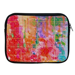 Colorful Watercolors Pattern                      Apple Ipad 2/3/4 Protective Soft Case by LalyLauraFLM