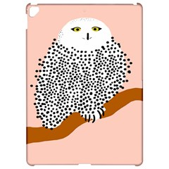 Animals Bird Owl Pink Polka Dots Apple Ipad Pro 12 9   Hardshell Case by Mariart