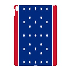 British American Flag Red Blue Star Apple Ipad Pro 10 5   Hardshell Case by Mariart