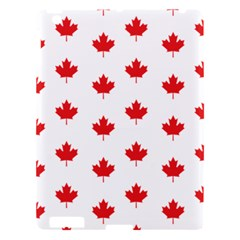 Canadian Maple Leaf Pattern Apple Ipad 3/4 Hardshell Case by Mariart