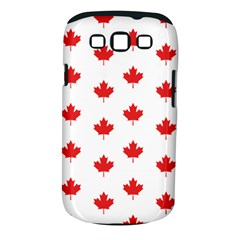 Canadian Maple Leaf Pattern Samsung Galaxy S Iii Classic Hardshell Case (pc+silicone) by Mariart
