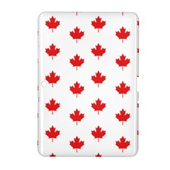 Canadian Maple Leaf Pattern Samsung Galaxy Tab 2 (10 1 ) P5100 Hardshell Case  by Mariart