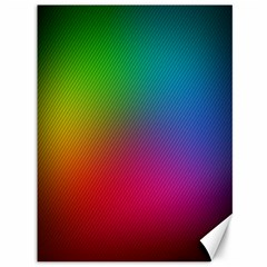 Bright Lines Resolution Image Wallpaper Rainbow Canvas 36  X 48   by Mariart