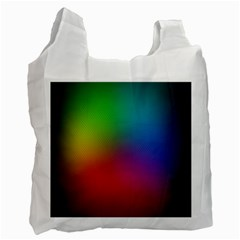 Bright Lines Resolution Image Wallpaper Rainbow Recycle Bag (one Side) by Mariart