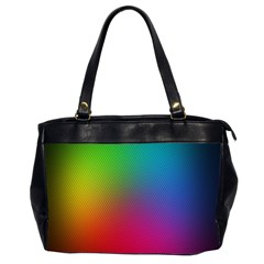 Bright Lines Resolution Image Wallpaper Rainbow Office Handbags (2 Sides)  by Mariart