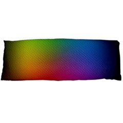 Bright Lines Resolution Image Wallpaper Rainbow Body Pillow Case Dakimakura (two Sides) by Mariart