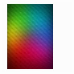 Bright Lines Resolution Image Wallpaper Rainbow Large Garden Flag (two Sides) by Mariart
