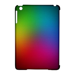 Bright Lines Resolution Image Wallpaper Rainbow Apple Ipad Mini Hardshell Case (compatible With Smart Cover) by Mariart