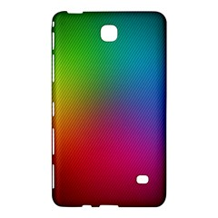 Bright Lines Resolution Image Wallpaper Rainbow Samsung Galaxy Tab 4 (7 ) Hardshell Case  by Mariart