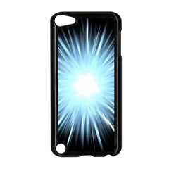 Bright Light On Black Background Apple Ipod Touch 5 Case (black) by Mariart