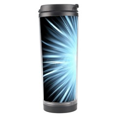 Bright Light On Black Background Travel Tumbler by Mariart