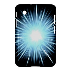 Bright Light On Black Background Samsung Galaxy Tab 2 (7 ) P3100 Hardshell Case  by Mariart