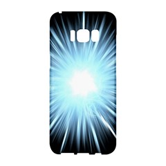 Bright Light On Black Background Samsung Galaxy S8 Hardshell Case  by Mariart