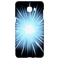 Bright Light On Black Background Samsung C9 Pro Hardshell Case  by Mariart