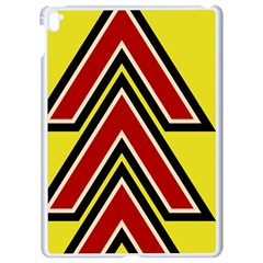 Chevron Symbols Multiple Large Red Yellow Apple Ipad Pro 9 7   White Seamless Case by Mariart