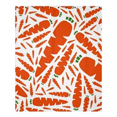 Carrots Fruit Vegetable Orange Shower Curtain 60  X 72  (medium)
