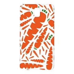 Carrots Fruit Vegetable Orange Samsung Galaxy Note 3 N9005 Hardshell Back Case by Mariart