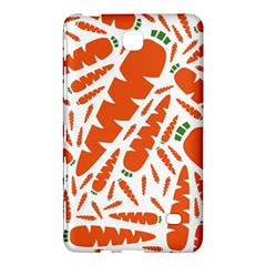 Carrots Fruit Vegetable Orange Samsung Galaxy Tab 4 (8 ) Hardshell Case  by Mariart