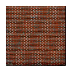 Brick Wall Brown Line Tile Coasters by Mariart