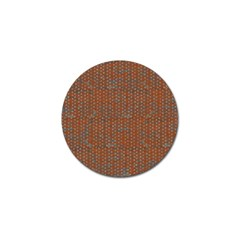 Brick Wall Brown Line Golf Ball Marker (10 Pack) by Mariart