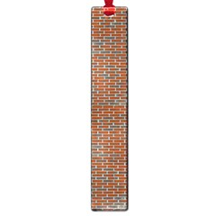 Brick Wall Brown Line Large Book Marks by Mariart