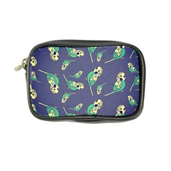 Canaries Budgie Pattern Bird Animals Cute Coin Purse by Mariart
