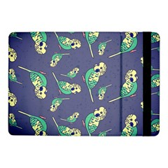 Canaries Budgie Pattern Bird Animals Cute Samsung Galaxy Tab Pro 10 1  Flip Case by Mariart