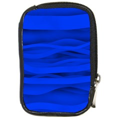 Dark Blue Stripes Seamless Compact Camera Cases by Mariart
