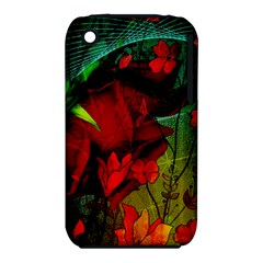 Flower Power, Wonderful Flowers, Vintage Design Iphone 3s/3gs by FantasyWorld7