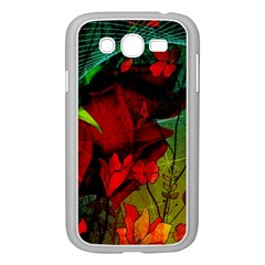 Flower Power, Wonderful Flowers, Vintage Design Samsung Galaxy Grand Duos I9082 Case (white) by FantasyWorld7
