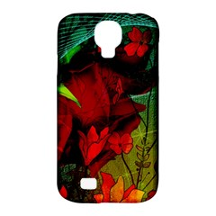 Flower Power, Wonderful Flowers, Vintage Design Samsung Galaxy S4 Classic Hardshell Case (pc+silicone) by FantasyWorld7