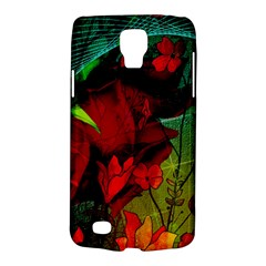 Flower Power, Wonderful Flowers, Vintage Design Galaxy S4 Active by FantasyWorld7