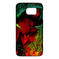 Flower Power, Wonderful Flowers, Vintage Design Galaxy S6 by FantasyWorld7