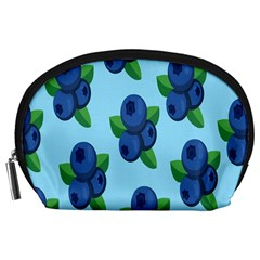 Fruit Nordic Grapes Green Blue Accessory Pouches (large)