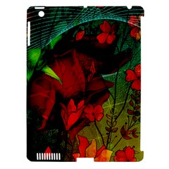 Flower Power, Wonderful Flowers, Vintage Design Apple Ipad 3/4 Hardshell Case (compatible With Smart Cover) by FantasyWorld7