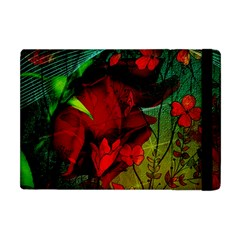 Flower Power, Wonderful Flowers, Vintage Design Apple Ipad Mini Flip Case by FantasyWorld7