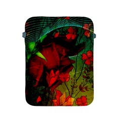 Flower Power, Wonderful Flowers, Vintage Design Apple Ipad 2/3/4 Protective Soft Cases by FantasyWorld7