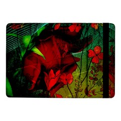 Flower Power, Wonderful Flowers, Vintage Design Samsung Galaxy Tab Pro 10 1  Flip Case by FantasyWorld7