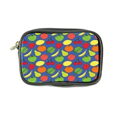 Fruit Melon Cherry Apple Strawberry Banana Apple Coin Purse by Mariart