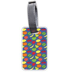 Fruit Melon Cherry Apple Strawberry Banana Apple Luggage Tags (one Side)