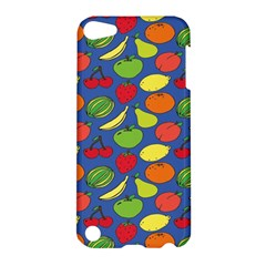 Fruit Melon Cherry Apple Strawberry Banana Apple Apple Ipod Touch 5 Hardshell Case by Mariart