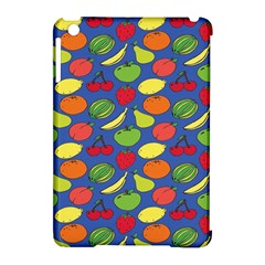 Fruit Melon Cherry Apple Strawberry Banana Apple Apple Ipad Mini Hardshell Case (compatible With Smart Cover) by Mariart
