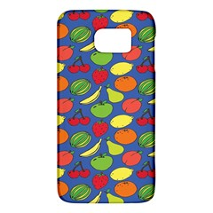 Fruit Melon Cherry Apple Strawberry Banana Apple Galaxy S6 by Mariart