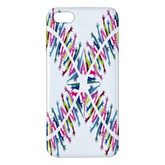 Free Symbol Hands Apple Iphone 5 Premium Hardshell Case by Mariart