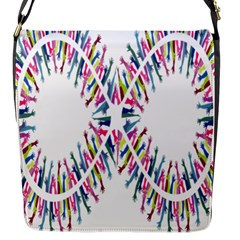 Free Symbol Hands Flap Messenger Bag (s) by Mariart