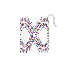 Free Symbol Hands Drawstring Pouches (xs)  by Mariart